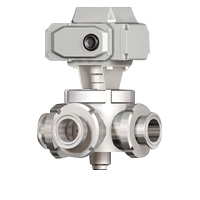 Electric 3-way Ball Valve