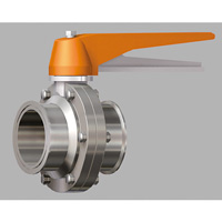 Manual Lock Stopper, Butterfly Valve