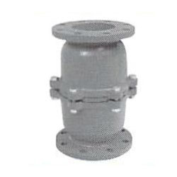 All Cast Iron Spring Flange Type Spring Intermediate Foot Valve