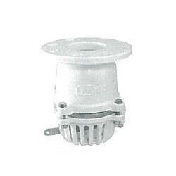 Cast Iron Lining, Flanged Single Open Levered Foot Valve (Stainless Steel Valve Seat and Valve Body)