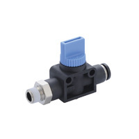 Shut-off Valve, Hand Valve, Straight B