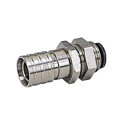 Light Coupling E3/E7 Series Socket Bulkhead Straight