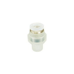 PP Type Tube Fitting for Clean Environment, Straight