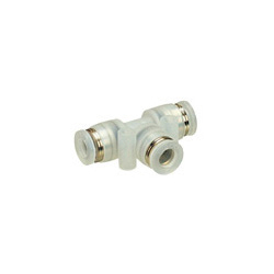 Tube Fitting PP Type Union Tee for Clean Environment