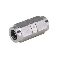 for Corrosion Resistance, SUS316 Tightening Fitting, Union Straight