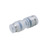 for Clean Environments, Tube Fitting PP Type, Different Diameter Union Straight