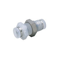 Tube Fitting PP Type Bulkhead Union P for Clean Environments