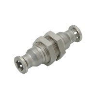 for Corrosion Resistance, SUS316 Fitting, Bulkhead Union