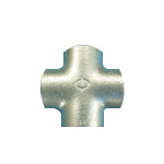 Steel Pipe Fitting, Screw-in Pipe Fitting, Cross