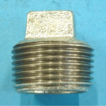 Steel Pipe Fitting, Threaded Pipe Fitting, Plug