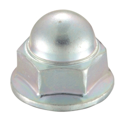 Flanged Cap Nut (Serrated)