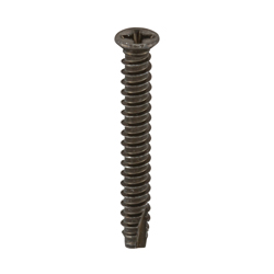 Cross Recessed Small Flat Head Tapping Screws, 2 Models Grooved B-1 Shape