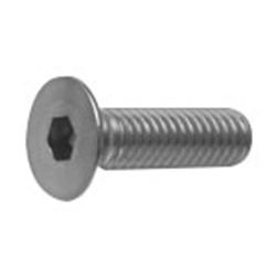 Hex Socket Flat Head Cap Screws, Fine, DIN Standard