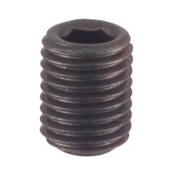 Hex Socket Set Screw Flat Tip Fine