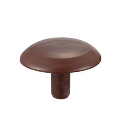 Cap for Hollow Wood Screw (Made of Polyethylene) with Phillips Head
