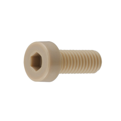 PEEK Low Hexagonal Socket Head Cap Screw