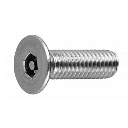 TRF/Tamper-Proof Screw, Stainless Steel Pin, Small Plate Hexagonal Hole Screw (UNC)