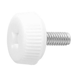 White UF Resin Decorative Screw P Type