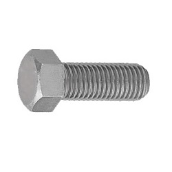 Iron Small Hex Bolt (full threaded screw) (fine) Kongo Byora