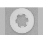 For nylon set washer embedding