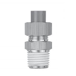 Insert Fittings KF Series, Male Connector KFH
