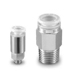 Male Connector KPQH/KPGH Clean One-Touch Fitting
