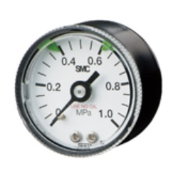 Pressure Gauge For Clean Regulator / With Limit Indicator G46-SRA/B Series