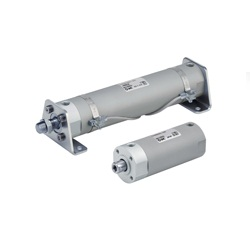 Air Cylinder, Short Type, Standard, Double Acting, Single Rod CG3 Series