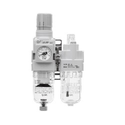 Air Combination, Filter Regulator + Lubricator AC20A-B To AC60A-B Series