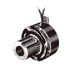 Warner series through shaft type clutch