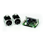 2-axis simultaneous drive micro-step driver & stepping motor 2 piece set CSA-UD series