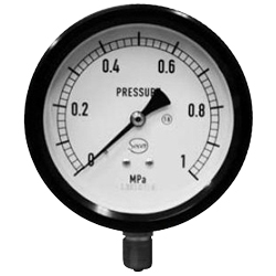 Socer Planning Plastic Pressure Meter / Compound Gauge / Vacuum Gauge - A Type
