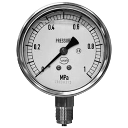 Socer Planning Glycerin Pressure Meter / Compound Gauge / Vacuum Gauge - A Type