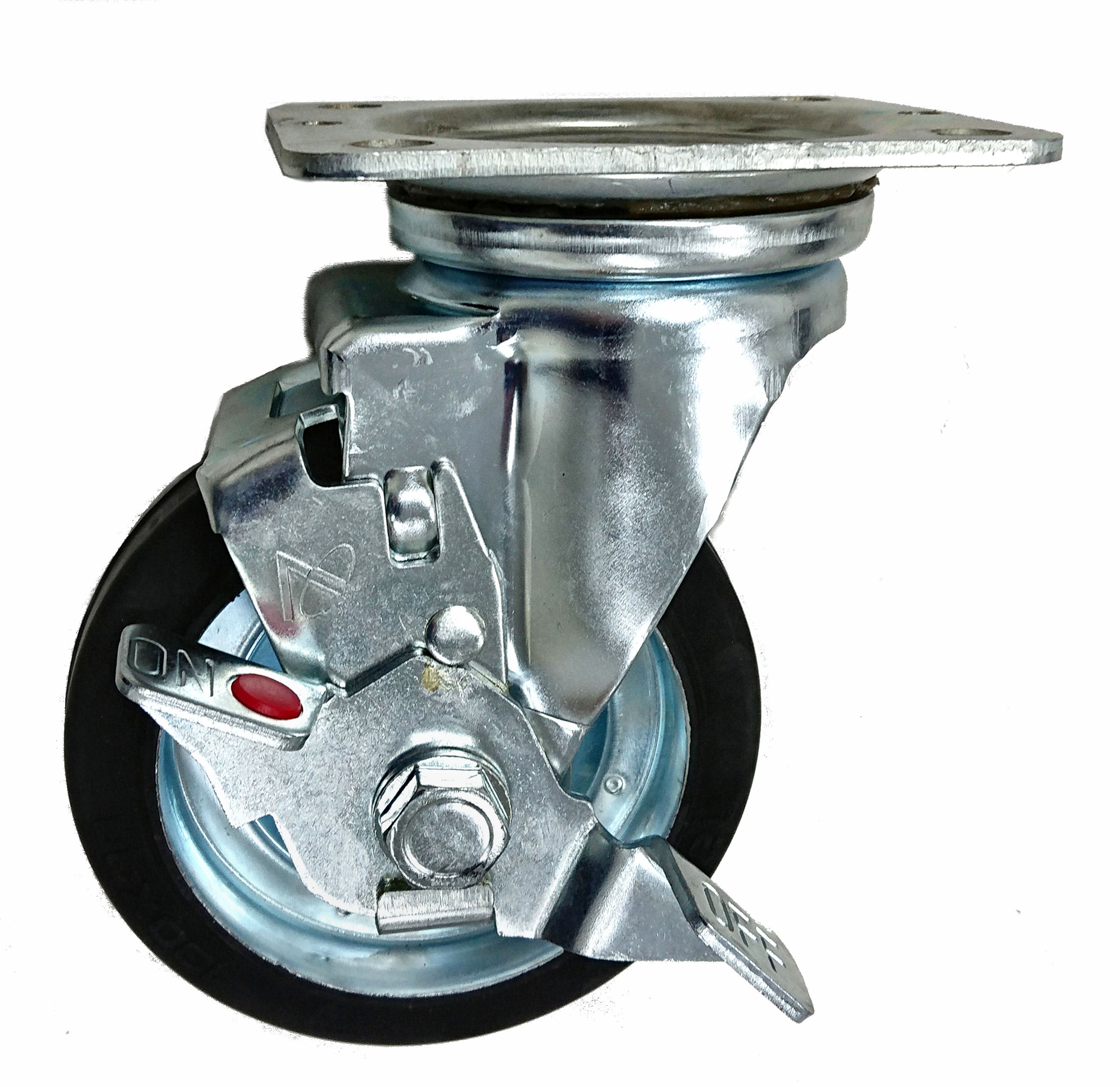 Plate Type Metal Frame Caster