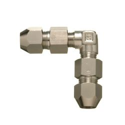 Double Nut Type Fitting Union Elbow for Control Copper Pipes