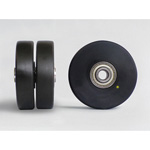 MCD Conductive MC Nylon (for Stainless Steel Low-Floor Double Wheels)