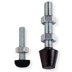 Bolts and Nuts for Toggle Clamps, with Rubber Head