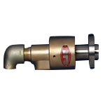 Pressure Rotary Joint Pearl Rotary Joint RXE6100 (Both Directions Inner Tube Rotation Flange-Mounted Type)