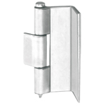 Stainless Steel L-Shaped Back Hinge, Type 3 B-1535