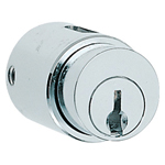 Small Push Lock for Sliding Doors, C-108