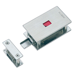 Stainless steel surface type lavatory lock C-1474