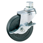 Screw Swivel Caster with Stopper K-415A