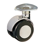 Dual Wheel Free-swivel Caster without Stopper, K-200MY