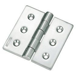 Stainless Steel, Butt Hinge for Heavy-Duty Use B-1064