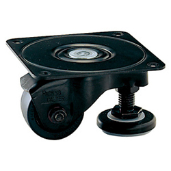 Heavy-Duty Low Floor Type Swivel Caster and Adjuster without Stopper, K-100HB2-AF