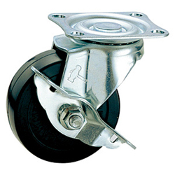 Free-Swivel Caster with Stopper, K-413S