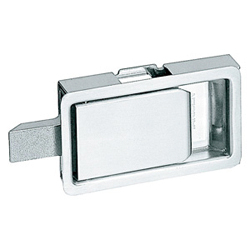 Stainless Steel, Flat, Latch C-1201