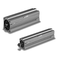 Thin Air Pressure Cylinder (Compatible with Long Stroke), 10S-6RE Series