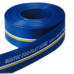 Hose for Civil Engineering, Piping, and Air-Conditioning, Eco-Flat Hose