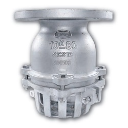 Flange Type Stainless Steel Foot Valve